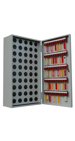 Шкаф для ключей КЛ-50П купить недорого в Екатеринбурге (50 пеналов, без брелков)